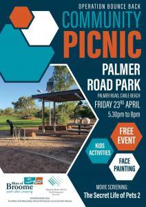 Operation Bounce Back Community Picnic at Palmer Road Park