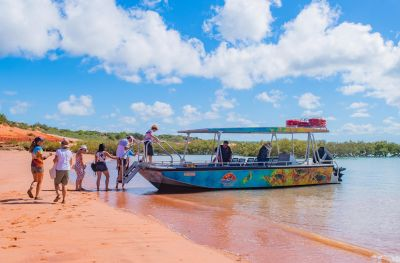 Broome boat tour 7