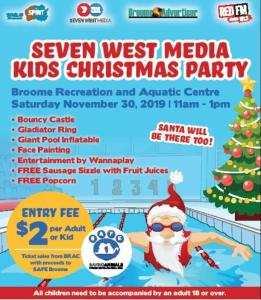 Seven West Media Kids Christmas Party