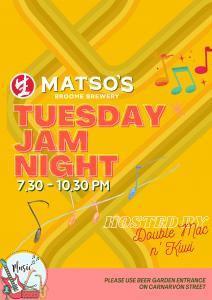 Jam Night at Matso's Broome Brewery