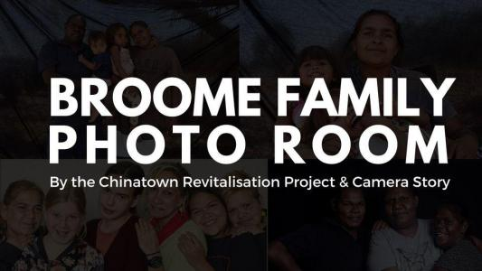 Broome Family Photo Room : Chinatown Discovery Festival 2021