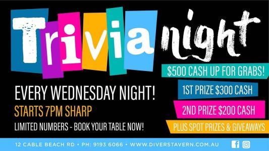 Trivia Night at Divers Tavern