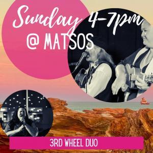 3rd Wheel - Sunday at Matsos