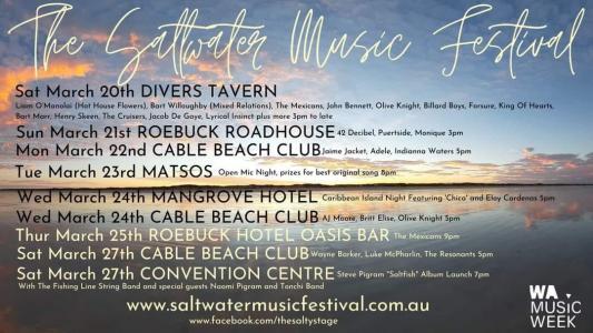 Saltwater Music Festival 2021