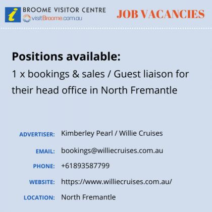 Bvc jobs board willie