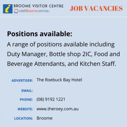 Bvc jobs board roey