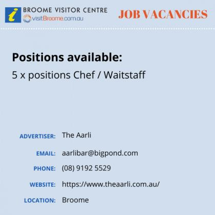 Bvc jobs board aarli