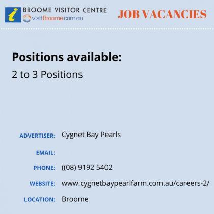 Bvc jobs board cygnetbay