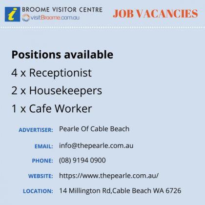 Bvc jobs board pearle