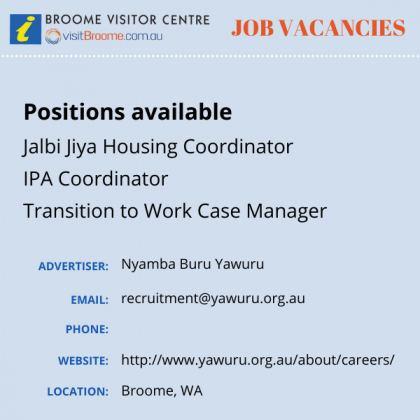 Bvc jobs board nby