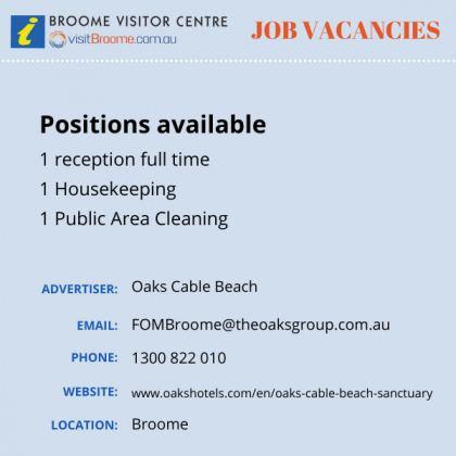 Bvc jobs board oakscable