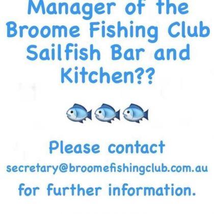 Broome fishing club