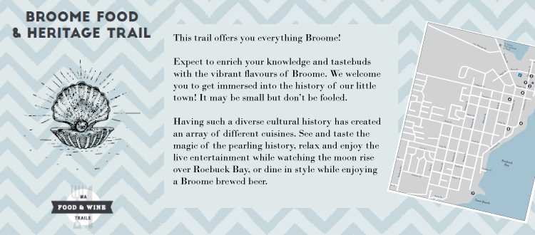 Download the Broome Food & Heritage Trail Map